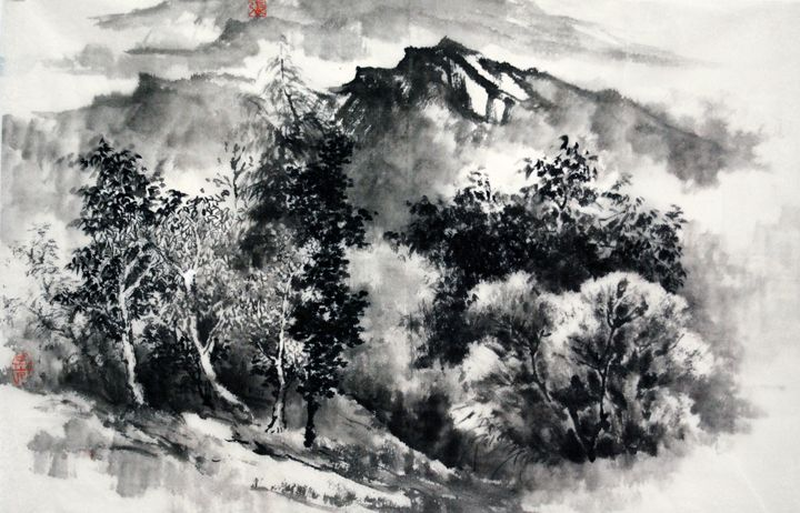mountain - Suhui  Chinese paiting