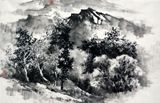 70cm*46cm chinese ink painting