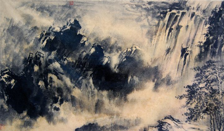 mountain - Suhui  Chinese paiting