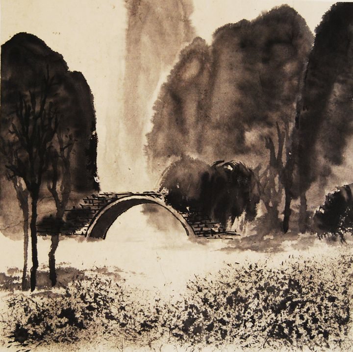 Guilin  landspace - Suhui  Chinese paiting