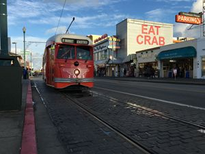 San Fransisco trolly