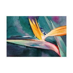 Crane Flower (Original Watercolor)