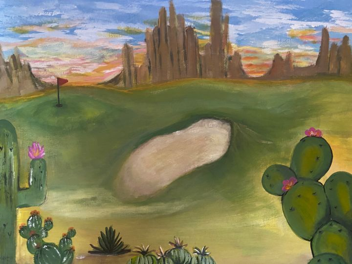 Golf - Nicci's ArT