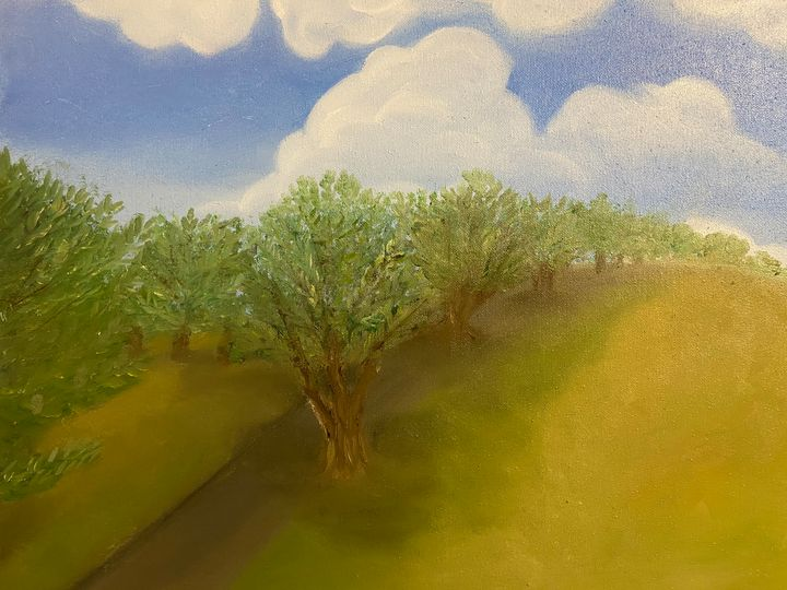 Olive grove - Nicci's ArT