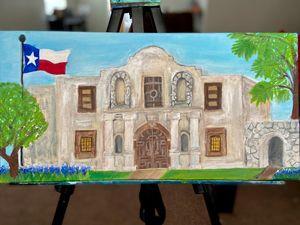 Alamo painting - Nicci's ArT