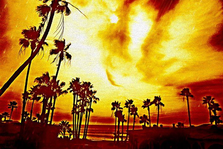 Sunset in Baja - Mystic Muse