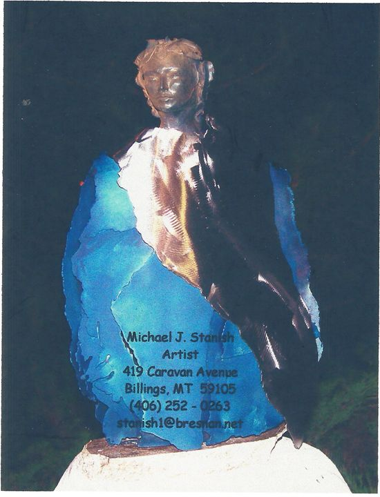 Maiden - mstanish painting and sculpture
