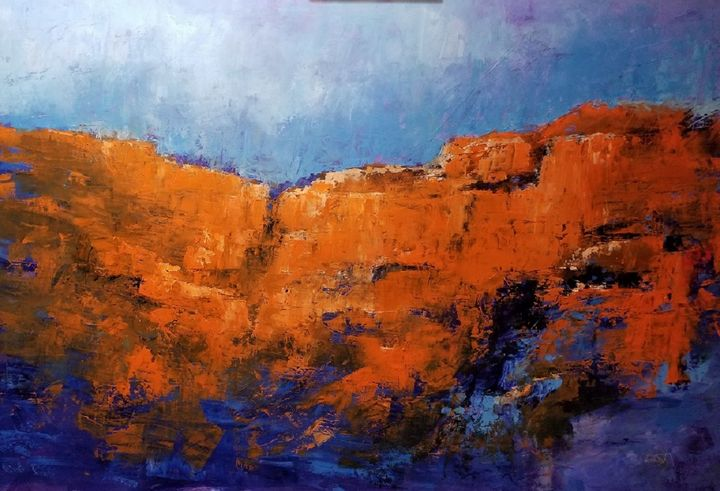 Along the Rims - mstanish painting and sculpture