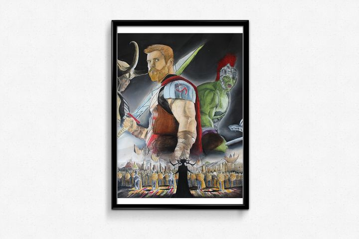 Thor Ragnarok - Clémence Pressac