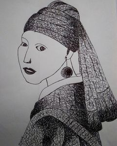 the girl with pearl earring 1650