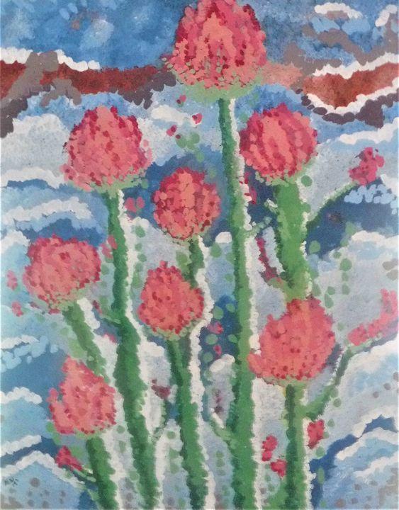 Tulips in the wind - ALW Art House