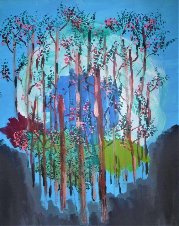 Moonlight Forest - ALW Art House