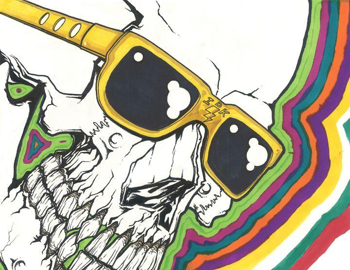 Color Skull - eyeheartslayer