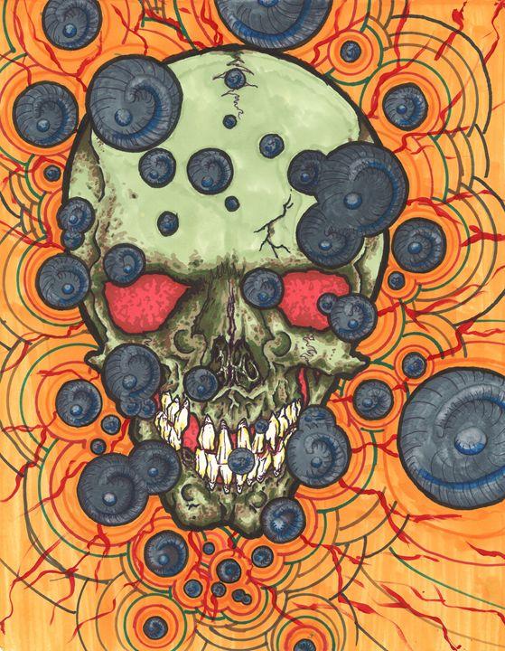 Green Skull - eyeheartslayer