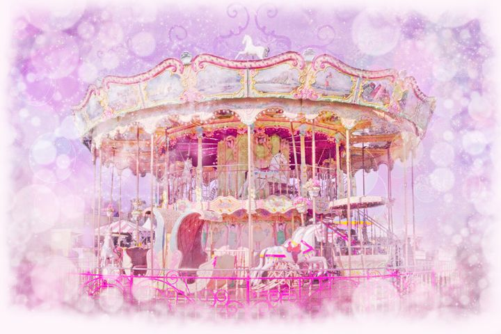 The Fair. Carousel. #1 - Nan Mac