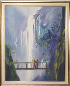 Waterfalls-Couple