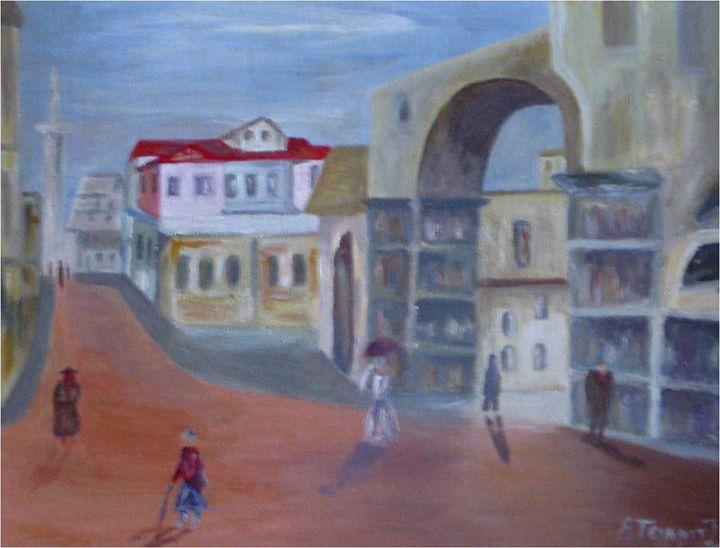 Old market - Elisabeth Tsikritzi
