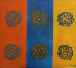 Flowers popping in art 2