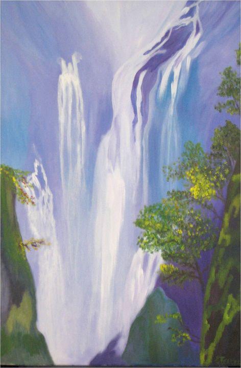Waterfalls - Elisabeth Tsikritzi