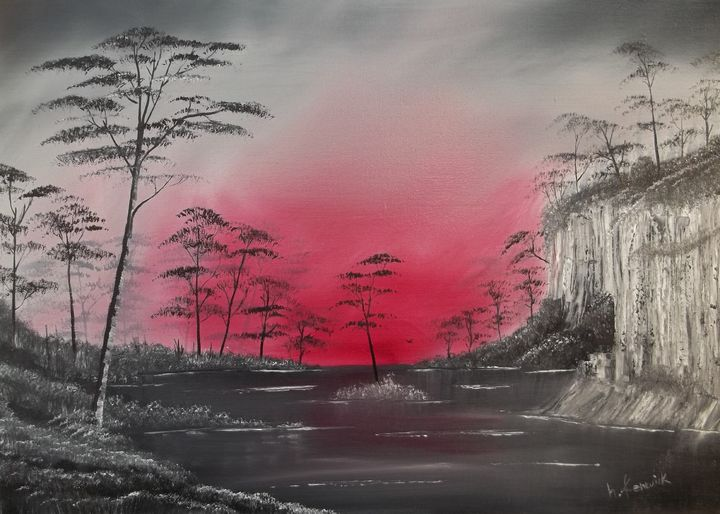 Dark lake - Howard