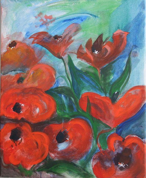 Poppy field   (A006) - KATIA-ART