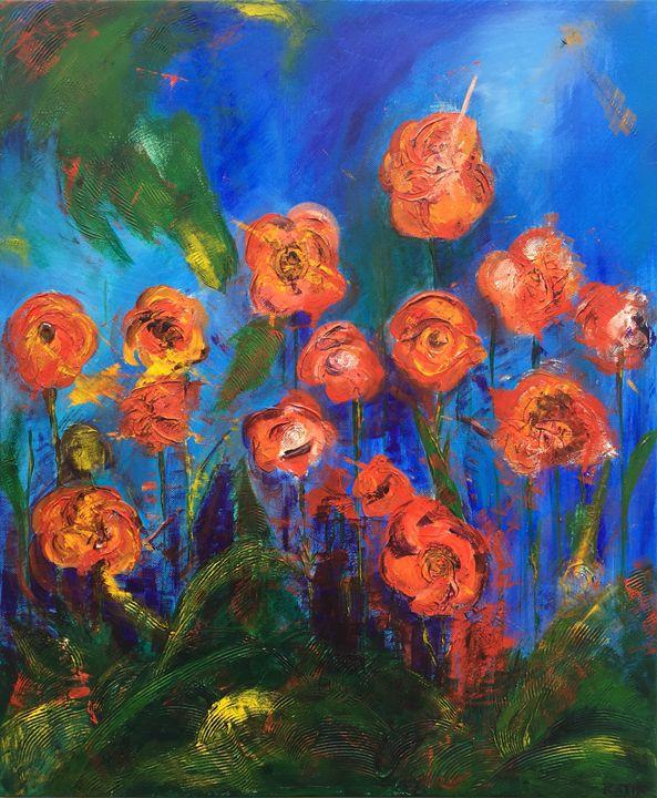 Blooming   (A033) - KATIA-ART