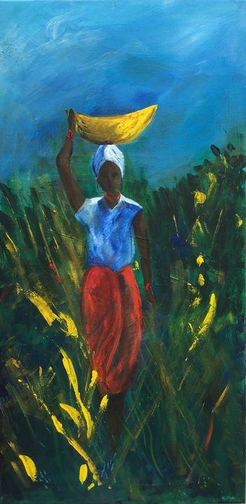 African Gleaner   (B004) - KATIA-ART