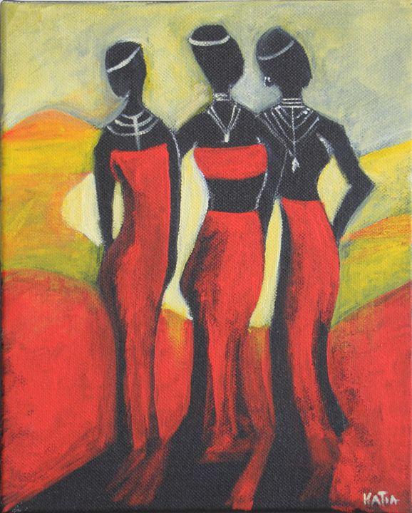 Under an African Sun   (A023) - KATIA-ART