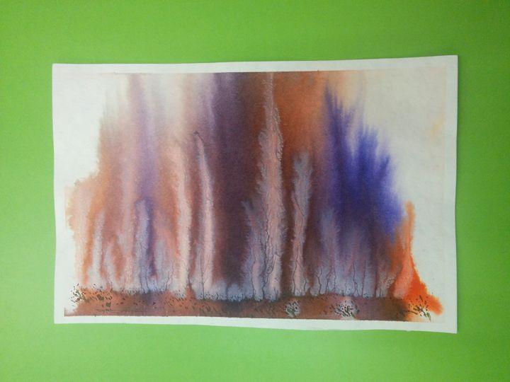 Original watercolor painting - Painting