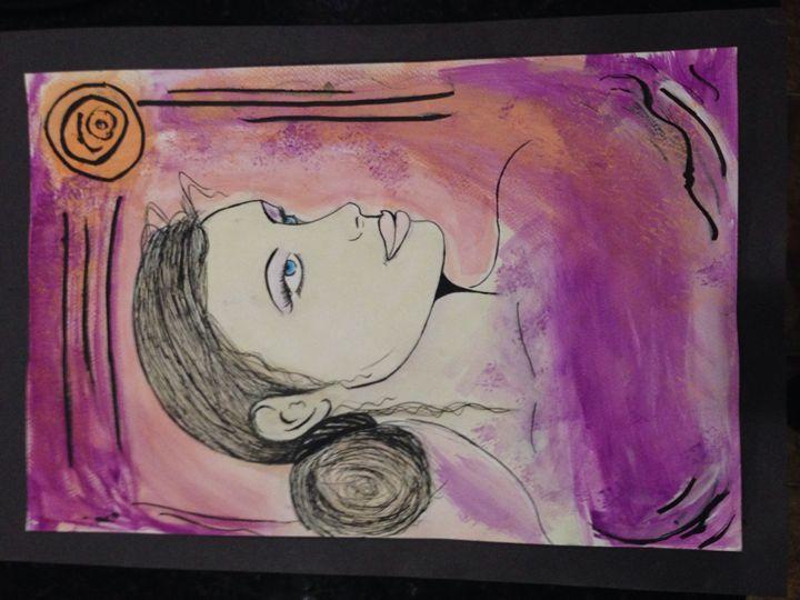 India Ink Drawing - Sara J Tanner