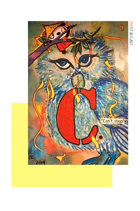 Owl for C. - Elaine Cordova EC