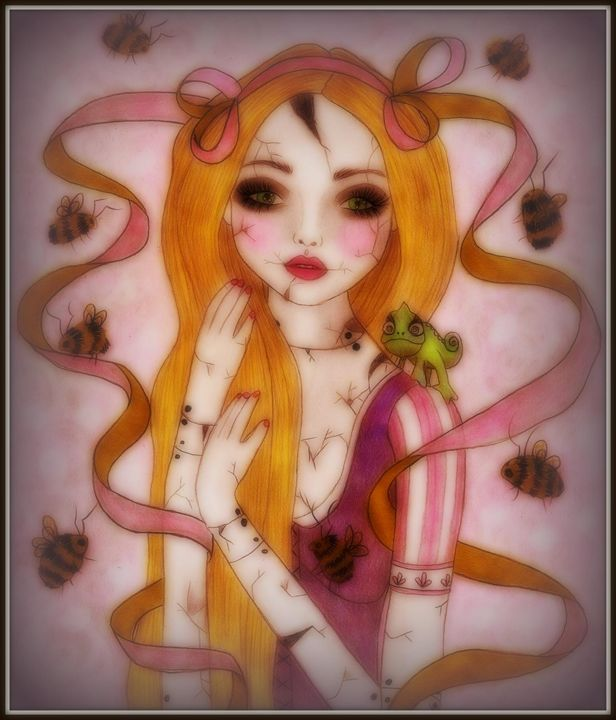 Broken Doll Rapunzel - Eyes Of Underland