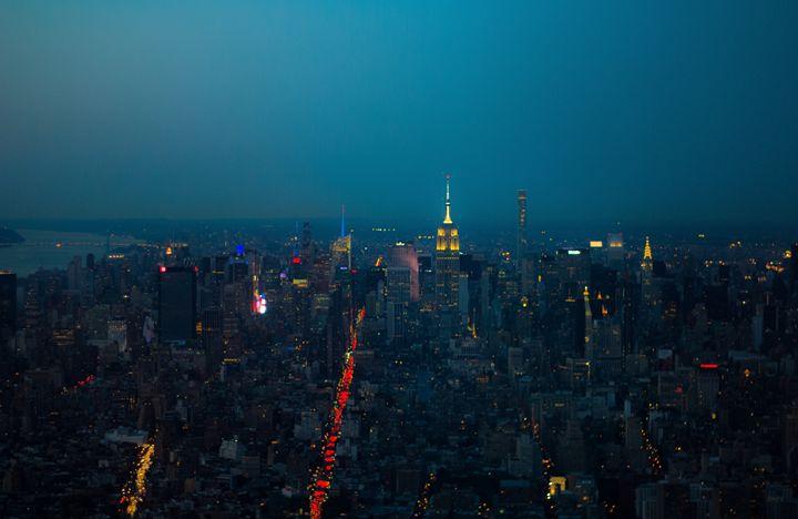 Downtown To Midtown Manhattan - NYC