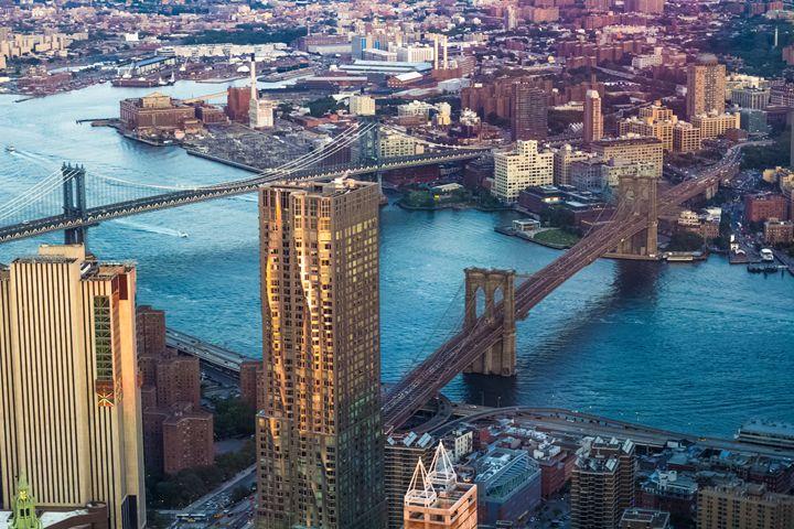 Brooklyn Bridge & Manhattan Bridge - NYC