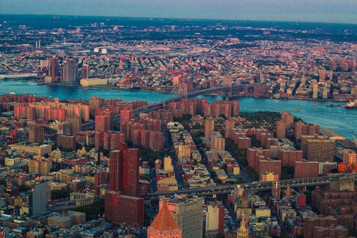 Lower EastSide & Williamsburg Bridge - NYC