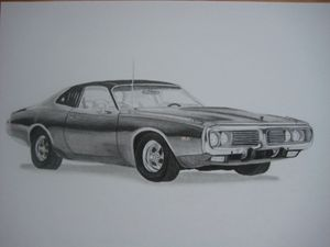 1973 Dodge Charger - Jason's Art