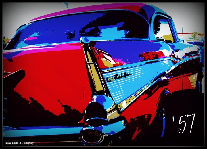 1957 Chevy - Bobbee Rickard Art & Photography