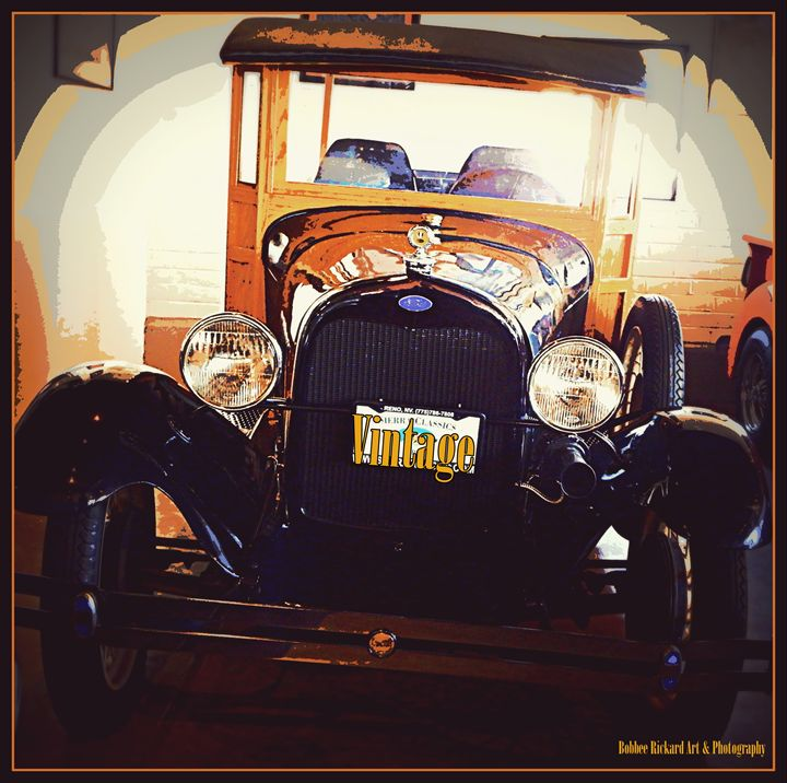 Vintage Ford - Bobbee Rickard Art & Photography