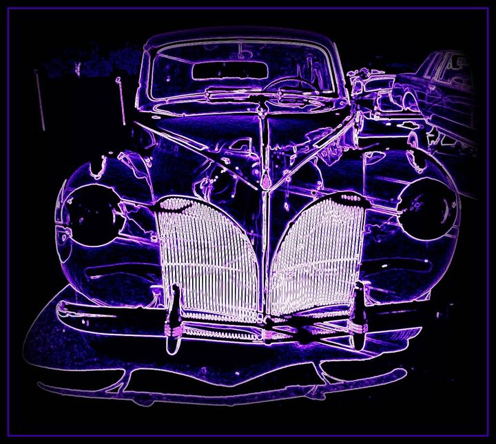 Electrical 41 Lincoln Limo - Bobbee Rickard Art & Photography