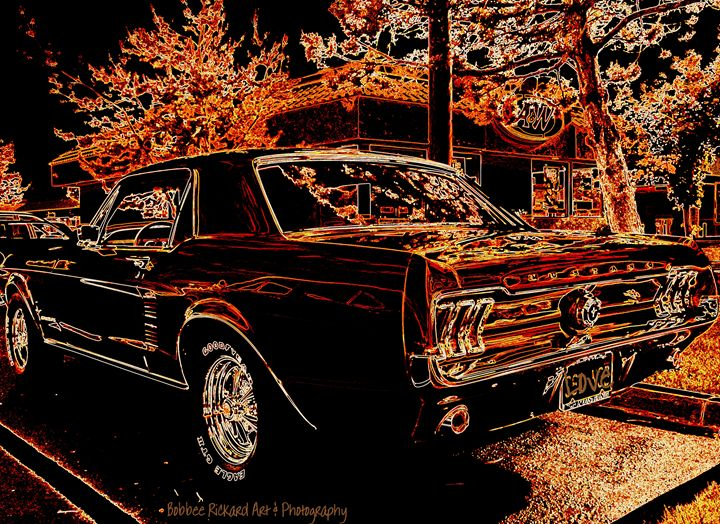 Drive In Classic - Bobbee Rickard Art & Photography