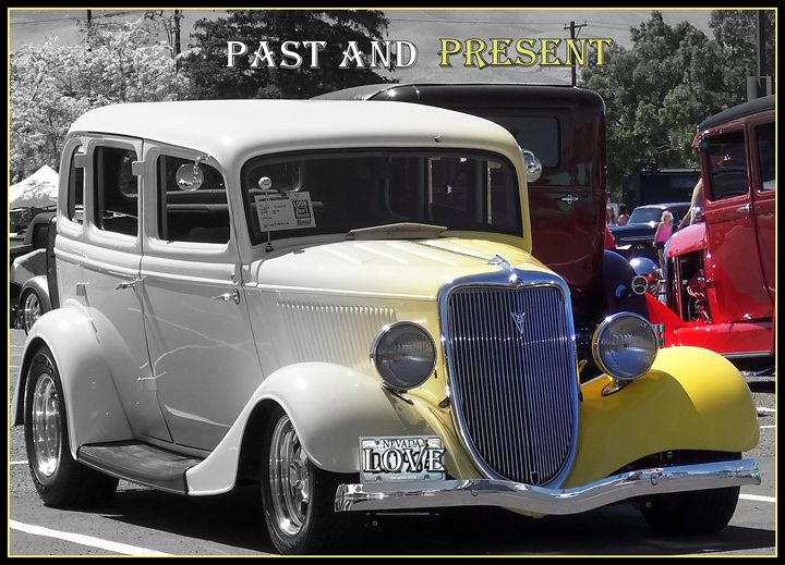 Past & Present Classic Cars - Bobbee Rickard Art & Photography