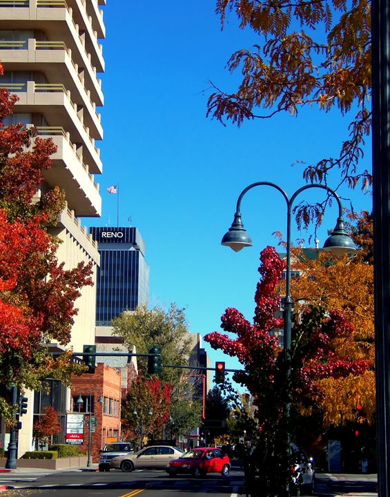 Reno Downtown Activity - Bobbee Rickard Art & Photography