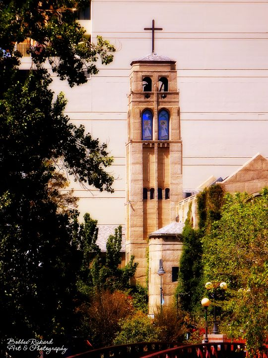 Historic Church in Downtown Reno - Bobbee Rickard Art & Photography