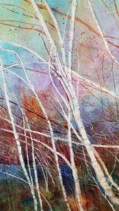 Birch Trees I - Vickie A McCrary
