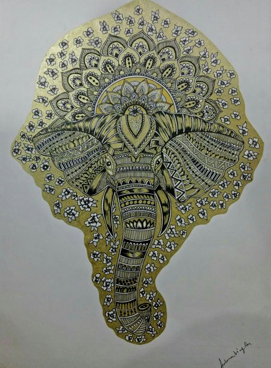 MANDALA ART - ART BY ARCHANA