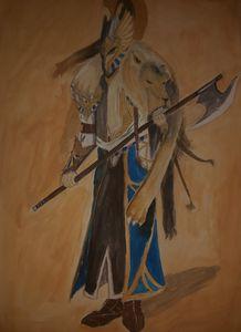 Lion Warrior - Teodora Ilic