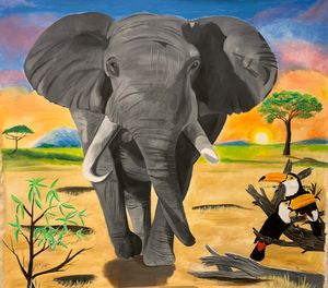 the majestic elephant - Ata