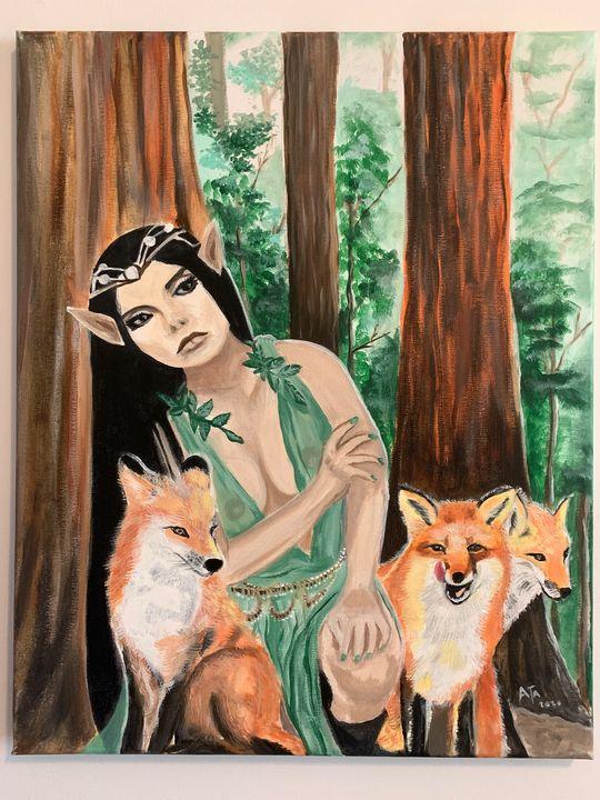 Fox girl - Ata