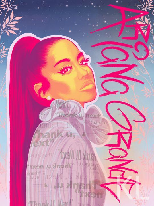 Ariana Grande Portrait - KLalier