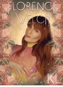 Florence Welch Portrait